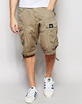 G-star Cargo Shorts Rovic Loose Fit With Belt In Dune