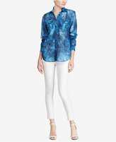 Lauren Ralph Lauren Tie-Dye-Print Shirt