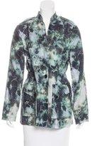 Raquel Allegra Lightweight Tie Dye Print Jacket