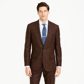 J.Crew Ludlow suit jacket in herringbone windowpane English wool