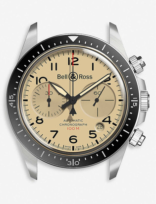 Bell & Ross BRV294-BEI-ST/SST Vintage stainless steel watch
