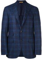 Canali 'Key' blazer - men - Cupro/Wool - 50