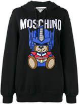 Moschino Transformer Teddy hoodie