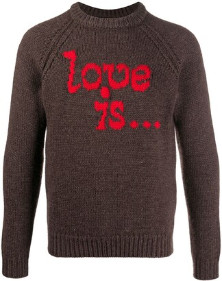 DSQUARED2 Love Is wool jumper
