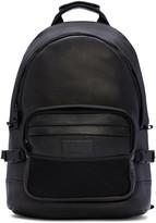 Ami Alexandre Mattiussi Black Leather Backpack