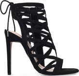 Carvela Gracie suedette heeled sandals