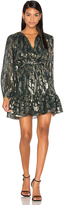 Cynthia Rowley Metallic Boho Dress