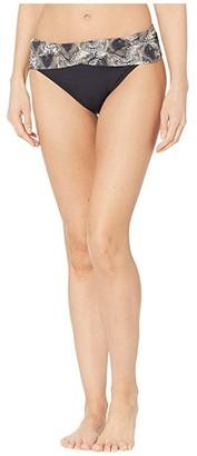 Bleu Rod Beattie Skin Games Sarong Hipster Bottoms (Snake) Women's Swimwear