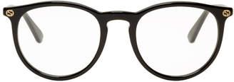Gucci Black Round Glasses
