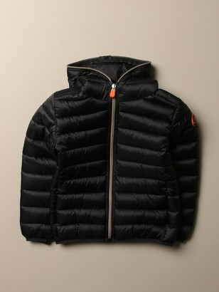 Save The Duck Irisy Down Jacket In Light Nylon