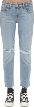 Rag & Bone Dre Low Rise Skinny Cotton Denim Jeans