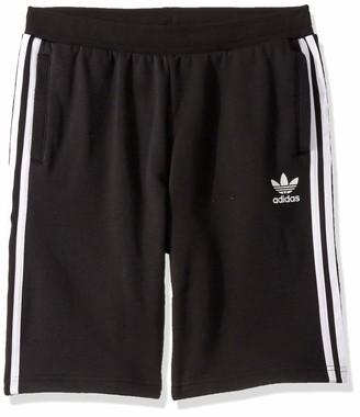 adidas Fleece Shorts Black/White