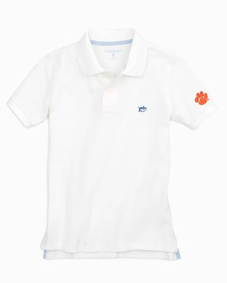 Southern Tide Clemson Tigers Boys Polo Shirt