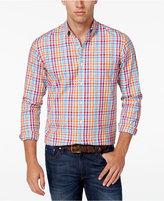 Club Room Men's Multi-Check Long-Sleeve Shirt