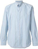 Umit Benan striped shirt - men - Cotton - 50