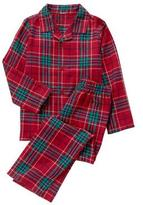 Gymboree Plaid Pajama Set