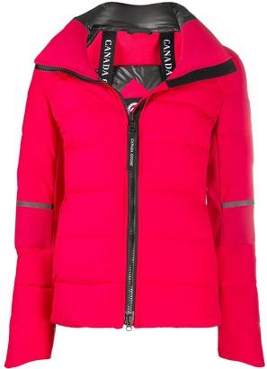 Canada Goose Long-Sleeved Zipped Up Jacket