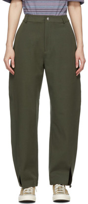 YMC Green Liz Trousers