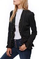 Free People Women's Romantic Ruffle Jacket