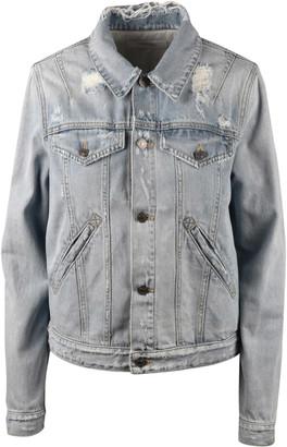 Givenchy Vintage Print Denim Jacket
