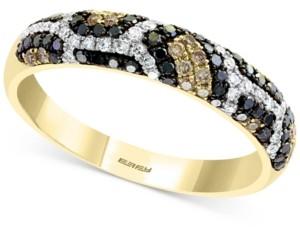 Effy Multi-Color Diamond Ring (3/8 ct. t.w.) in 14k Gold