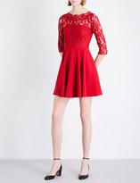 Claudie Pierlot Rhodes crepe dress