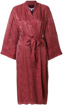 Elizabeth and James bordeaux kimono