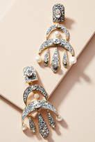 Shourouk Esmeralda Moon Drop Earrings