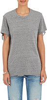 NSF Women's Lucy Distressed T-Shirt-LIGHT GREY