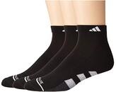 adidas Cushioned II Low Cut Socks 3-Pack (Black/White/Black/Onix Marl) Men's Crew Cut Socks Shoes