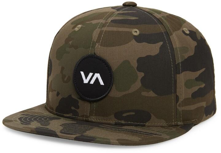RVCA Mens Va Patch Snapback Hat Baseball Cap