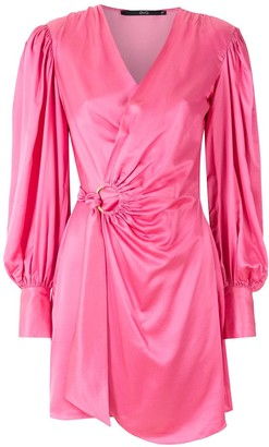 Eva Wrapped Ruched Dress