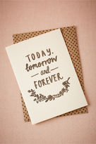 BHLDN Today, Tomorrow & Forever Card