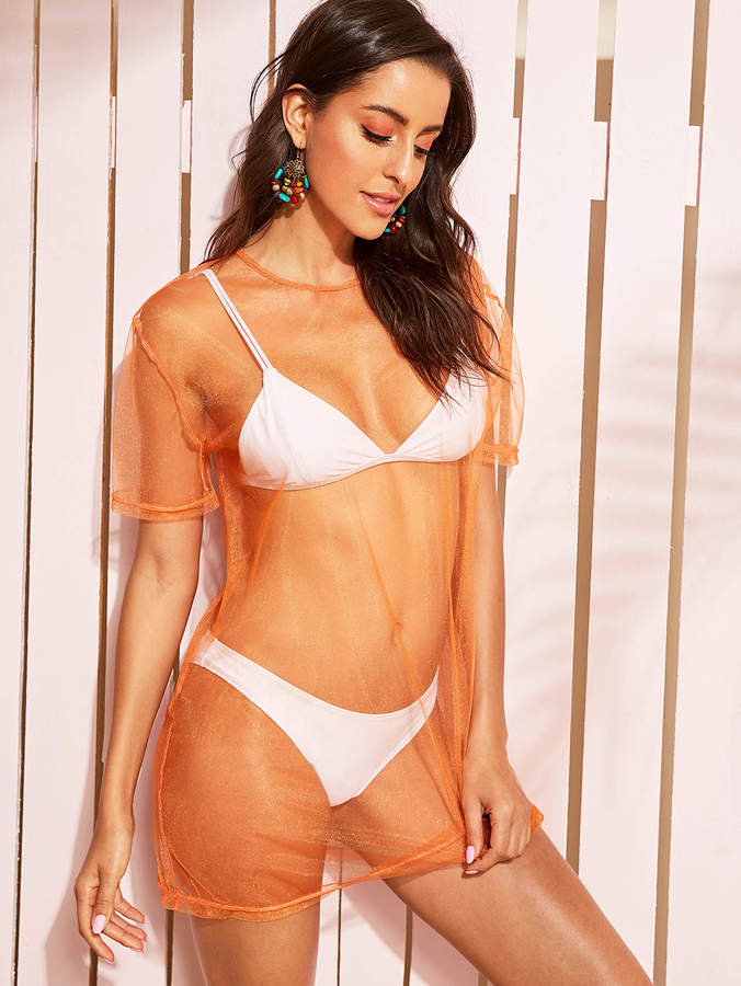 1862d09f9984b Sheer Cover Up - ShopStyle