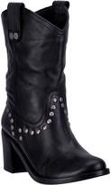 Dingo Black Louisa Leather Western Boot - Women