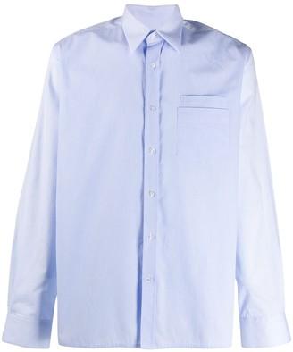 Inês Torcato Layered Pocket Long Sleeve Shirt