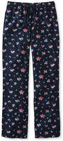 L.L. Bean Cotton Sleep Pants, Print