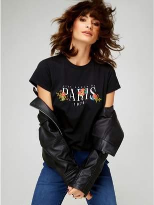 M&Co Paris slogan t-shirt