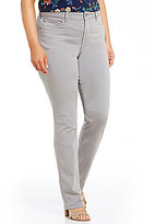 NYDJ Plus Marilyn Straight Leg Luxury Touch Jeans