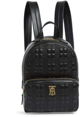 Burberry Lambskin Monogram Backpack