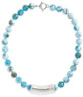Simon Sebbag Women's Semiprecious Stone Bead Collar Necklace