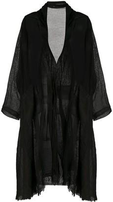 Masnada Sheer Oversized Coat