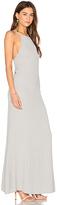Flynn Skye Adaline Maxi Dress in Gray. - size M (also in XS)