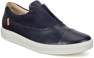Ecco Women's Sneakers Night - Night Sky Soft 7 II Leather Slip-On Sneaker - Women