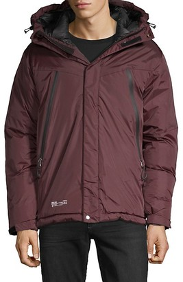 Point Zero By Maurice Benisti Hooded Puffer Jacket