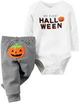 Carter's Baby My First Halloween Bodysuit Pant Set