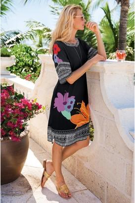 Soft Surroundings Hibiscus Dress