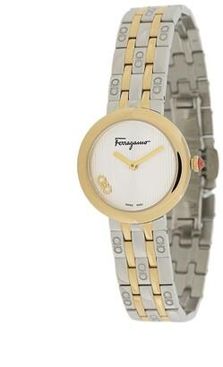 Salvatore Ferragamo Signature stainless steel watch