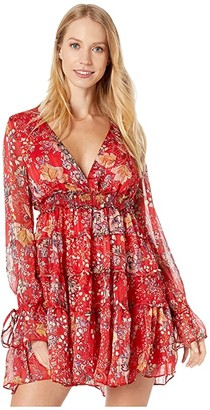 Free People Closer To The Heart Mini (Black) Women's Dress