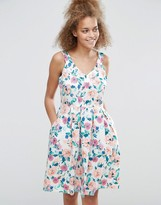 Sugarhill Boutique Isadora Floral Skater Dress